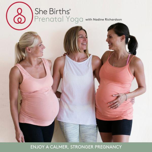 She Births® Prenatal Yoga Video