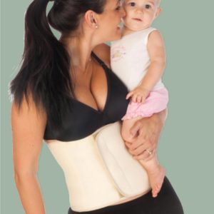 The She Births® Post Natal Belly Belt and Belly Band | Helps prevent abdominal separation and repair diastasis, strengthen your core muscles, boost your immune system by warming the kidney region, gives you great posture, help with breastfeeding and good attachment and provide great back support when used with all baby carriers
