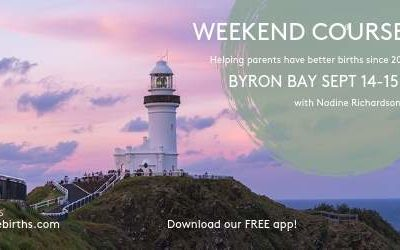 Escape the city – prepare for your birth with us in Byron!