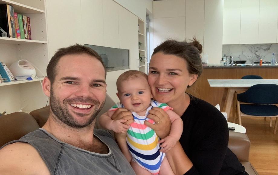 family photo Kelly Dave Hugo