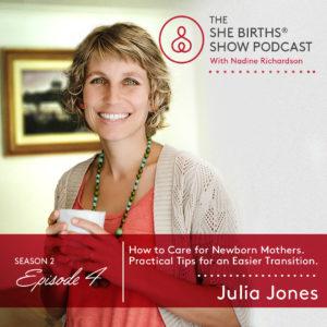 Julia Jones Podcast