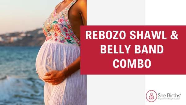 Belly Band and Rebozo combo