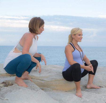 Nadine Richardson and Anna Kooiman | bright Photography | Prenatal Yoga